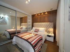 Suíte casal do apartamento decorado - Sublime Vila Prudente