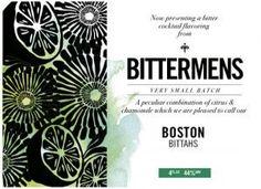 Bittermens, Boston Bittahs, Cocktail…