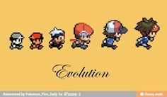 Pokemon's really evolved over the years.