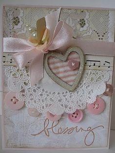 pretty card for wedding by fhaddad
