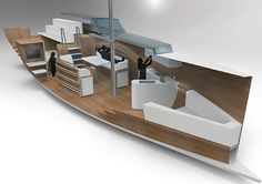 RIVAGE /concept for aeronautical sailing yacht/ on Behance