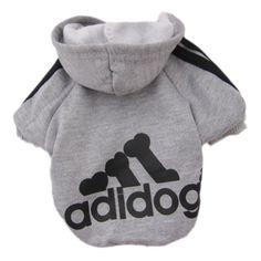 Zehui Pet Dog Cat Sweater Puppy T Shirt Warm Hoodies Coat Clothes Apparel Grey S - http://www.thepuppy.org/zehui-pet-dog-cat-sweater-puppy-t-shirt-warm-hoodies-coat-clothes-apparel-grey-s/