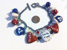 Texas Football Cheer Bracelet Texas Football Houston by bowsngifts, $12.50