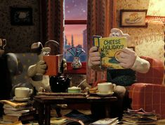Wallace and Gromit's charming abode. | 20 Fictional Homes You Wish You Could Live In