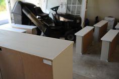 painting Ikea furniture.