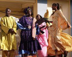 Traditional Dress, Senegal