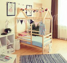 montessori bed children bed twin king single frame bed