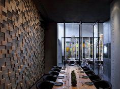 PEÇAS COM DIFERENTES ESPESSURAS!!!! The Taizu restaurant in Tel Aviv by Pitsou Kedem and Baranowitz-Amit