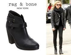 Chloe Moretz' Rag & Bone Harrow Booties