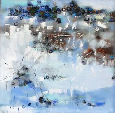 "Saatchi Art Artist Changsoon Oh; Painting, ""WINTER BEACH"" #art"