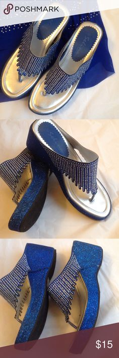 Sandals Great condition. Great to dress up or down. Comes with box. Selina Shoes