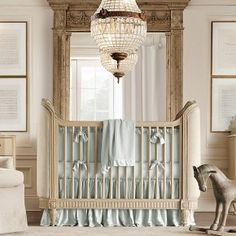 21 Chic Baby Nursery Room Design Ideas : Baby Nursery Room Design Ideas – Cream and aqua blue boys nursery room