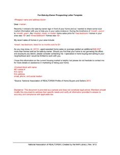 realtor introduction letter