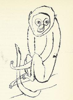 """21: """"Monkey"""" by Ben Shahn"""