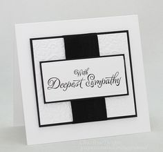 CAS91 - Theme Challenge Sympathy by cookiebaker - Cards and Paper Crafts at Splitcoaststampers