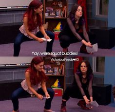 Victorious Nickelodeon, Icarly And Victorious, Funny Disney Memes, Funny Cartoons, Old Disney Shows, Right In The Childhood, Dear Best Friend, Drake And Josh, Nickelodeon Shows