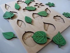 Leaf puzzle development toy toddler gif for baby, Eco toys gift for baby, Wooden toy puzzle leafs tree, Fine motor skills montessori method - BABY DEVELOPMENT Wooden Toys For Toddlers, Wooden Baby Toys, Wood Toys, Toddler Gifts, Toddler Toys, Baby Gifts, Montessori Toddler, Montessori Toys, Developmental Toys