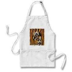 tiger aprons £16.65 THESE DESIGNS COME IN MANY DIFFERENT STYLES PRODUCTS & COLORS OF APPAREL ALSO