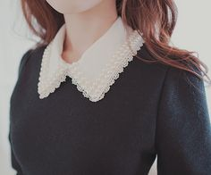 love that lacy collar