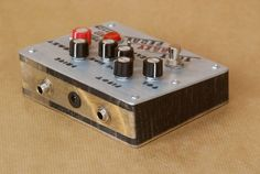 That Crazy Pedal by Analogwise. The newest creation. A fuzz pedal with instant feedback!