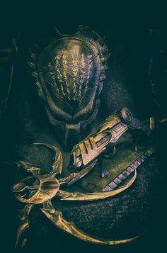 Wolf Predator, Predator Movie, Alien Vs Predator, Arte Alien, Alien Art, Les Aliens, Giger Alien, Dragons, Arte Horror