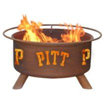 College Team Fire Pits Great for after the game evenings spent outdoors Pittsburgh Panthers Fire Pit & Grill