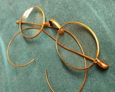 Victorian glasses Old eyeglasses Antique by MichelleandCoVintage, $45.00