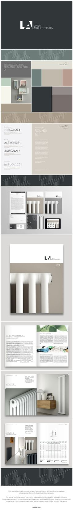 Linea Architettura | Brand Identity & Catalogue 2013 by Officemilano http://www.behance.net/officemilano