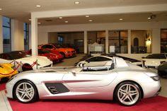 Amian Cars Mercedes-Benz SLR McLaren Stirling Moss.