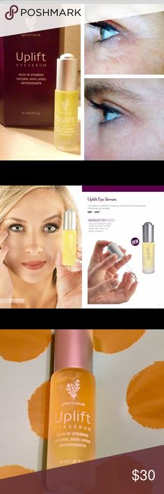 Younique Uplift eye serum 14ml This eye serum helps reduce fine lines and wrinkles, try it today! Younique Other