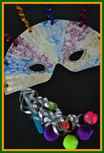 Mardi Gras Crafts for Kids - Create your own carnival masks! Learn how www.easy-crafts-for-kids.com/mardi-gras-crafts-for-kids.html