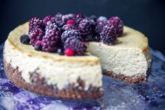 Najpelší FIT Cheesecake | We Lift Together Sweet Recipes, Healthy Recipes, Healthy Style, Stevia, Cheesecakes, Ricotta, Recipies, Food And Drink, Low Carb