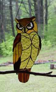 Warner Stained Glass - Susan Bundeff Online Gallery owl