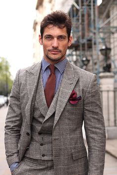 nxstyle:  nxstyle:  David Gandy in a suit by October House.  MVMT