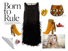 """born to rule"" by denisahad ❤ liked on Polyvore featuring Oscar de la Renta and Chloé"