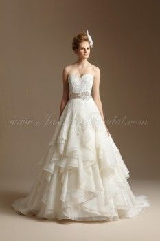 Layered Organza And Lace Wedding Dress I Love The Combo Of
