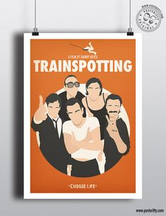 Minimal Movie Posters, Minimal Poster, Cinema Posters, Film Posters, Trainspotting Choose Life, Trainspotting Poster, Wes Anderson Poster, Wes Anderson Movies, Withnail And I