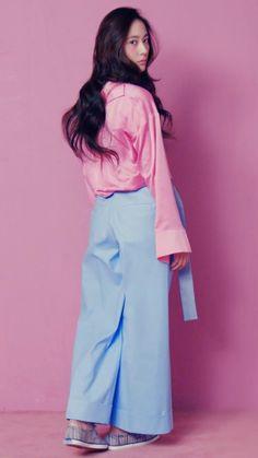#Krystal #Soojung #maknae #FX #photoshoot