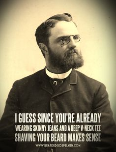 funny beard sayings - Google Search