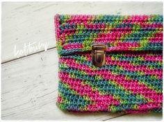 crochet clutch purse by kotbury