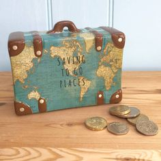 Suit Case Money Box