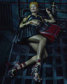 Alexander McQueen Spring/Summer 2014 Campaign Photos Featuring Kate Moss