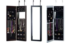 ** Good  Over-the-Door or Wall-Maintain Jewelry Armoire...