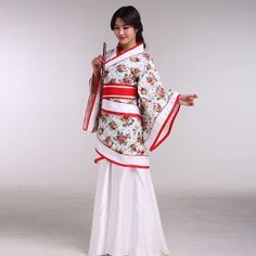 Trustful Girls Chinese Perform Drum Costumes Gradient Color Children Fan Yangko Classical Dance Costumes Stage Performance Clothing Fashionable And Attractive Packages Novelty & Special Use Chinese Folk Dance