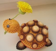 quilling patterns turtle   Turtle - quilling-MK