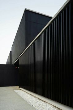 Corrigated steel exterior
