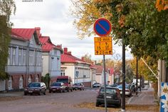 The area of Port Arthur in Turku: wooden houses just close to the city center. Port Arthur, Helsinki, Haku, Street View, Wooden Houses, Urban, City, Photography Ideas, Autumn
