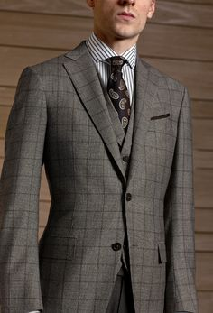 zegna prince of wales suit (Made to Measure)