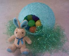 Sugar and String Crystal Easter Eggs