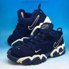 Nike Mens Air Slant Trainers Blue/White sz 9 Rare VTG Canvas Sneaker US 10 EU 44  | eBay
